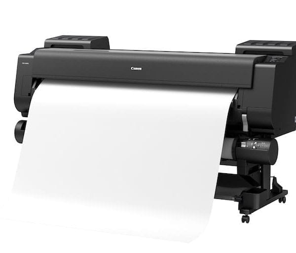 Canon imagePROGRAF PRO-6000S Side vIEW