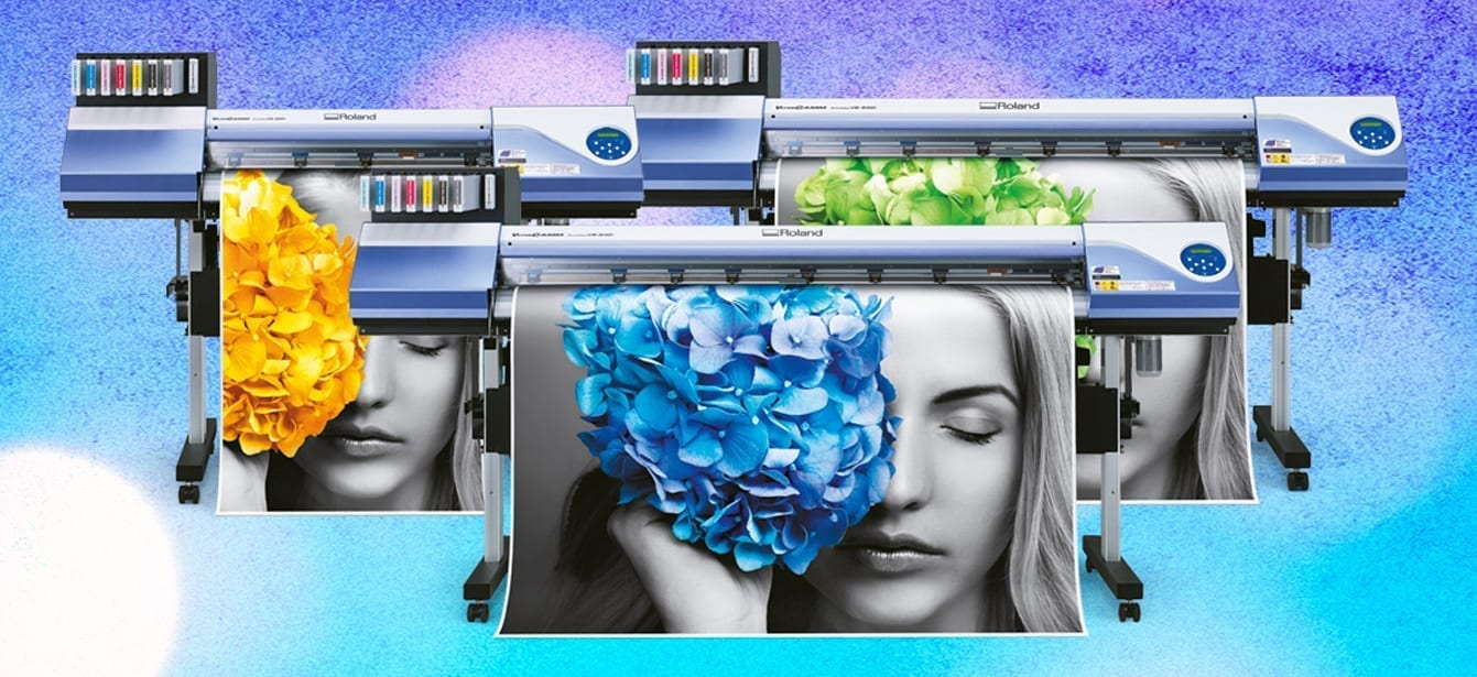 VersaCAMM® VS-640i, VS-540i, VS-300i Wide Format Inkjet Printers/Cutters