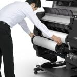Canon TX-2000 Series Printer Roll Change