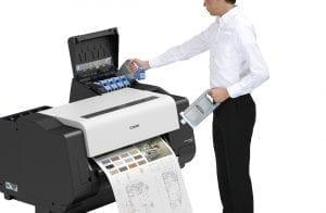 Canon TX-2000 Series Printer Ink Change