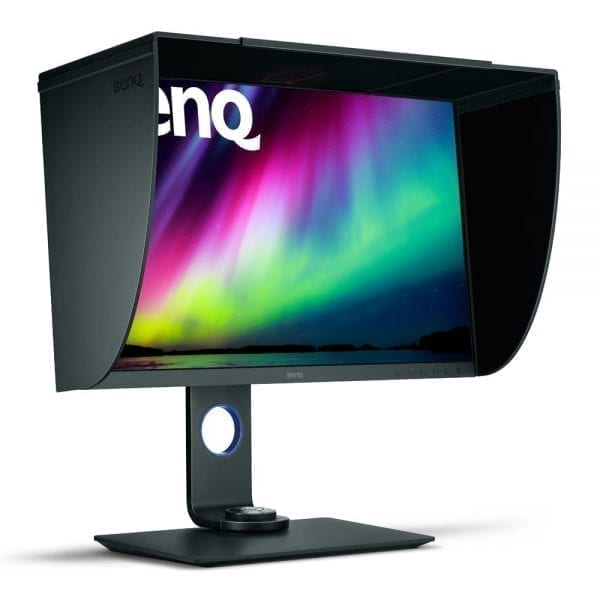 BenQ SW271 007 Photographic Colour Critical Monitor 2 Hood View