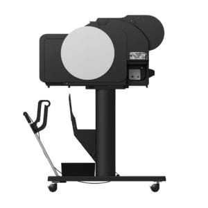Canon imagePROGRAF TM-300 Side Open